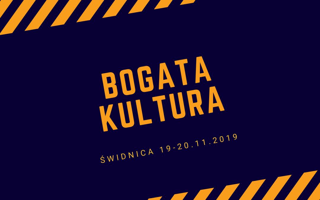 Seminarium Bogata Kultura: 19-20.11.2019 | Świdnica